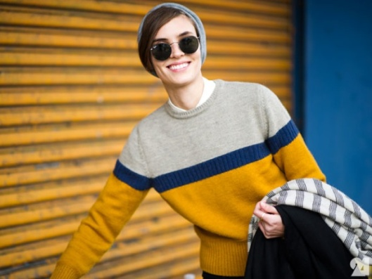 COLOR-BLOCK-SWEATER-CABLE-KNIT-STREET-STYLE-FASHION-WEEK-2012-LE-21EME-ARRONDISSEMENT-NEW-YORK-CITY
