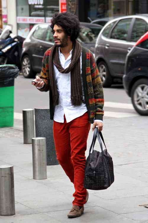 Fashion-Population_Paris_Street-Style_Red-Pants_Winter-Sweater