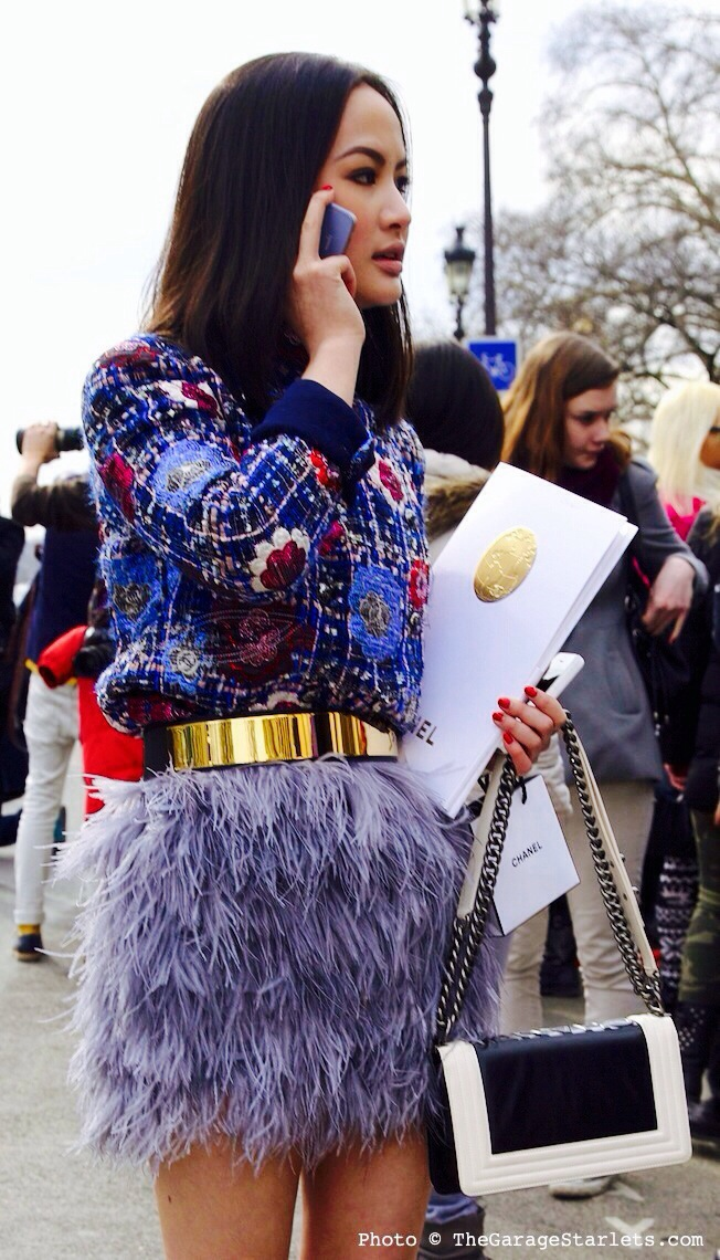 skirt, feathers, style, trend