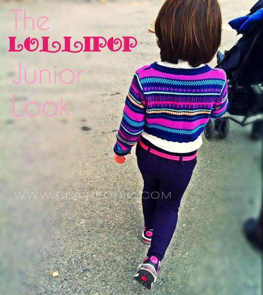 purplr, pink, rosa, viola, junior, look, little girl, colorful