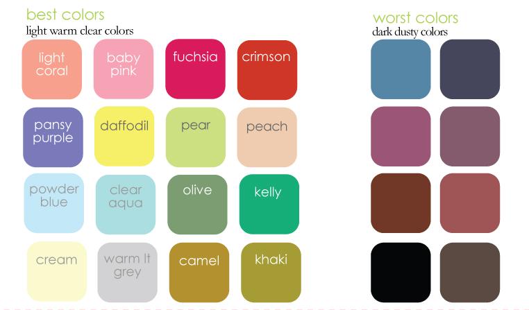 Light Spring Color Palette Best light-spring