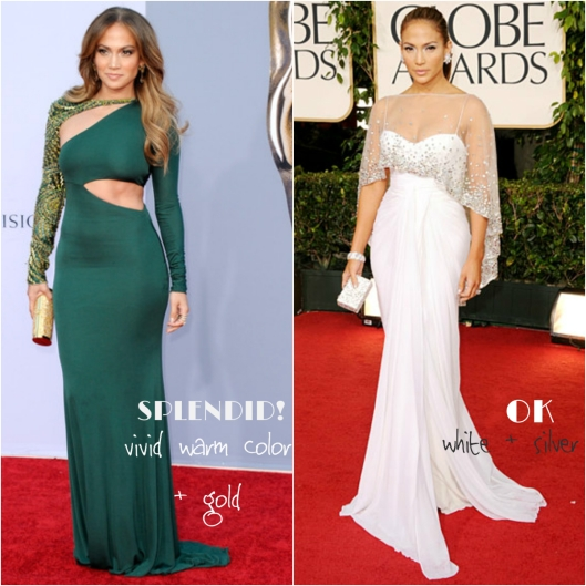 JLo red carpet