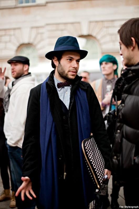 London+Fashion+Week+Street+Style+Men+Hat