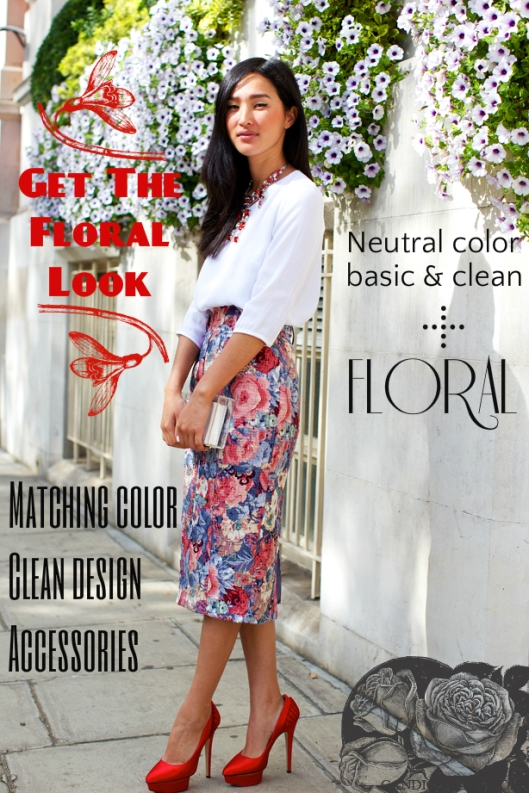 tips board floral look