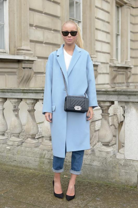 6-light-color-Street-Style-from-London-Fashion-Week-Fall-2014-for-girls