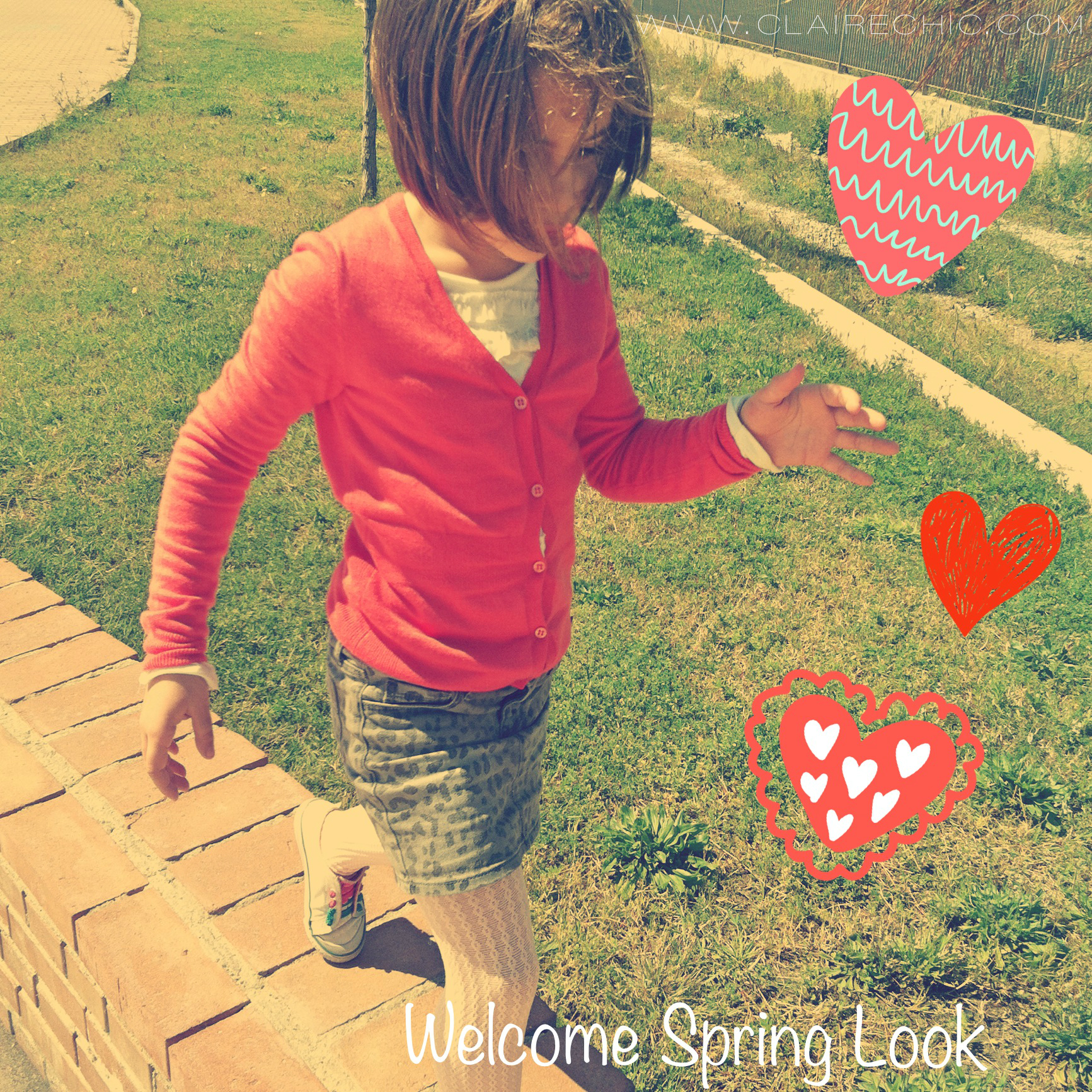 """Welcome Spring"" Junior Look"