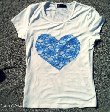 blue heart front