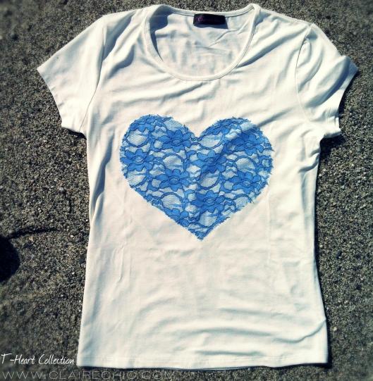 blue heart front