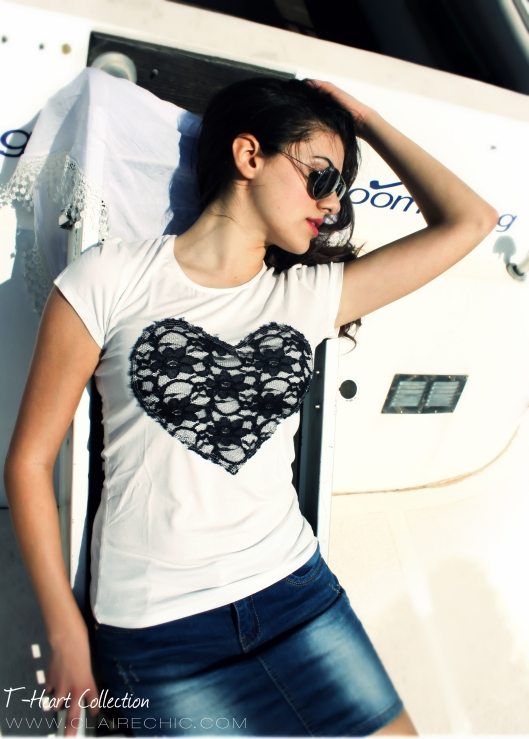 blue navy heart front