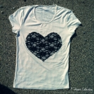 navy blue heart front