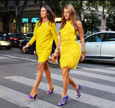 yellow dresses tommy ton