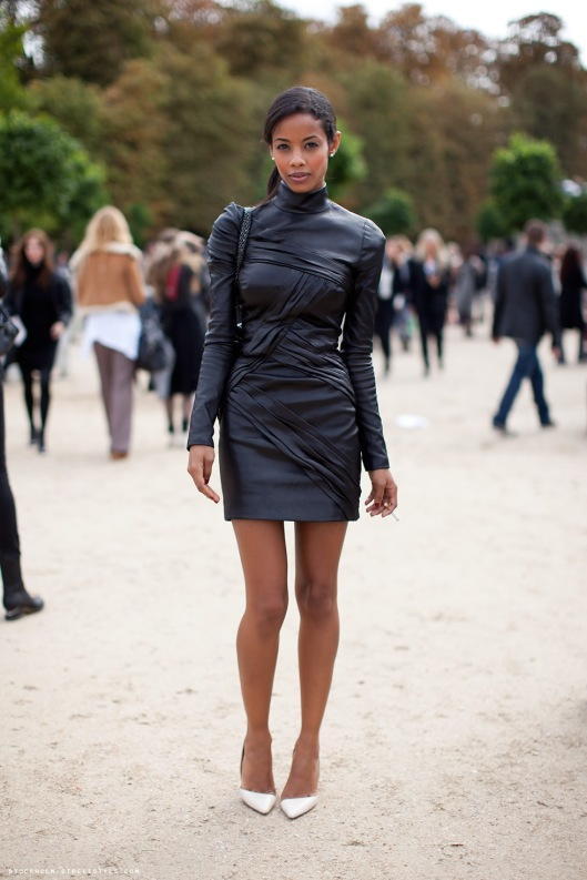 street-style-leather-dress-look