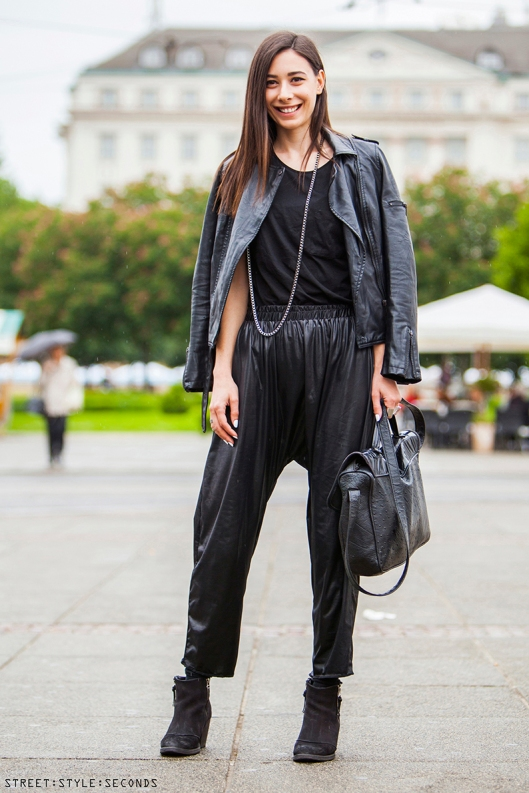 street style seconds leather all girls2
