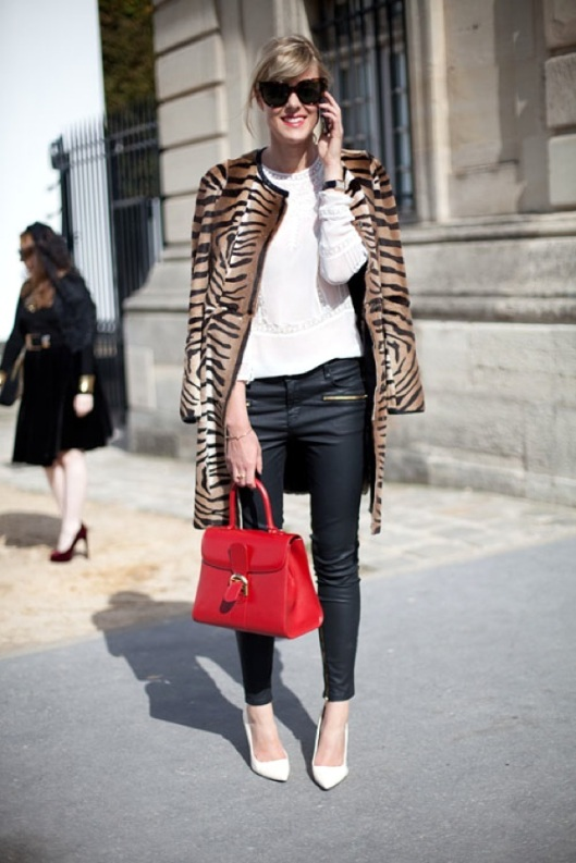 PFW-PARIS-FASHION-WEEK-STREET-STYLE-SS-SPRING-SUMMER-2013-ANIMAL-PRINT-COATS-ZEBRA-LEATHER-SKINNY-PANTS-ANKLE-ZIPPERS-RED-LADYLIKE-BAG-OVERSIZED-SUNGLASSES-WHITE-EMBROIDERED-TOP-WHITE-P
